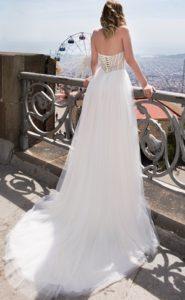 Brautkleid - Couture - ivory - Ruecken - Spitze