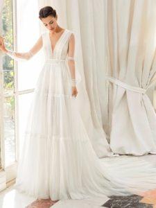 Brautkleid - Couture - ivory - Empire