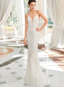 Brautkleid - Couture - ivory - Godet
