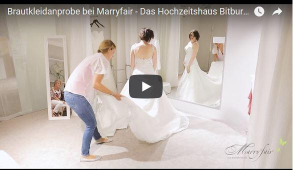 Marryfaire Brautkleidanprobe auf Video – Hochzeitsvideografie…