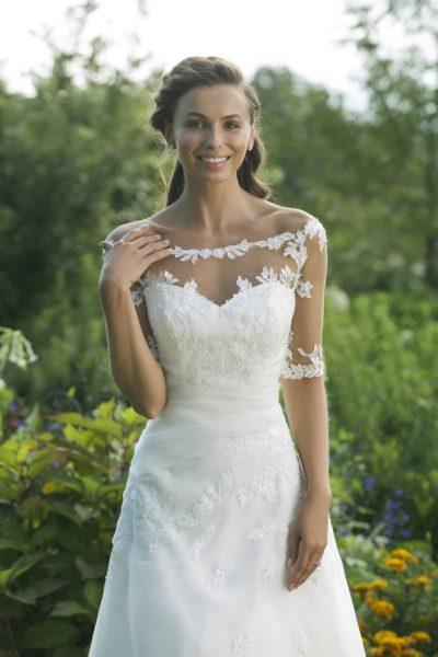 MF5029 (2) Hochzeit Curvy XXL ivory blush Traumkleid Luxemburg
