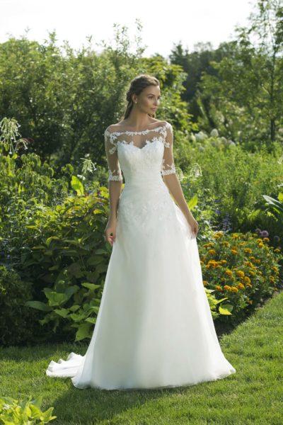 MF5029 (3) Hochzeit Curvy XXL ivory blush Traumkleid Luxemburg