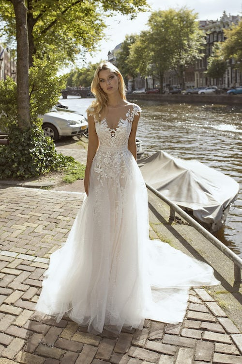 MF5443 Brautkleid ivory blush Vintage Boho Hochzeit Bitburg Luxemburg (2)
