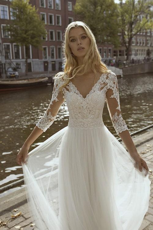 MF5444 Brautkleid ivory blush Vintage Boho Hochzeit Bitburg Luxemburg (3)