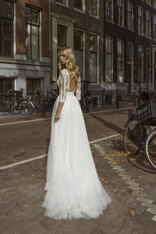 MF5444 Brautkleid ivory blush Vintage Boho Hochzeit Bitburg LuxemburgMF5444