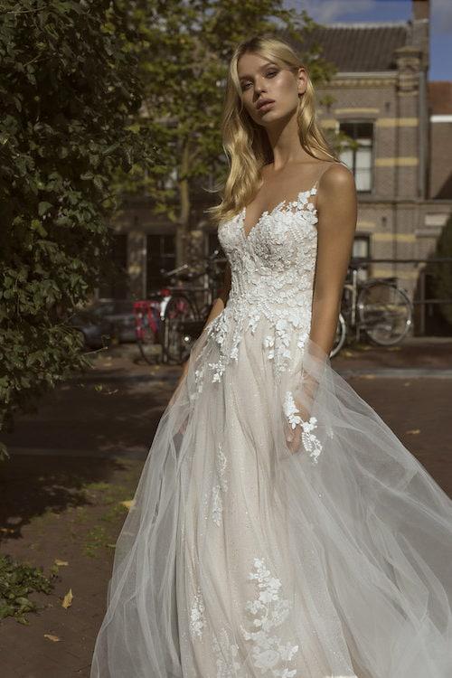 MF5446 Brautkleid ivory blush Vintage Boho Hochzeit Bitburg Luxemburg (4)