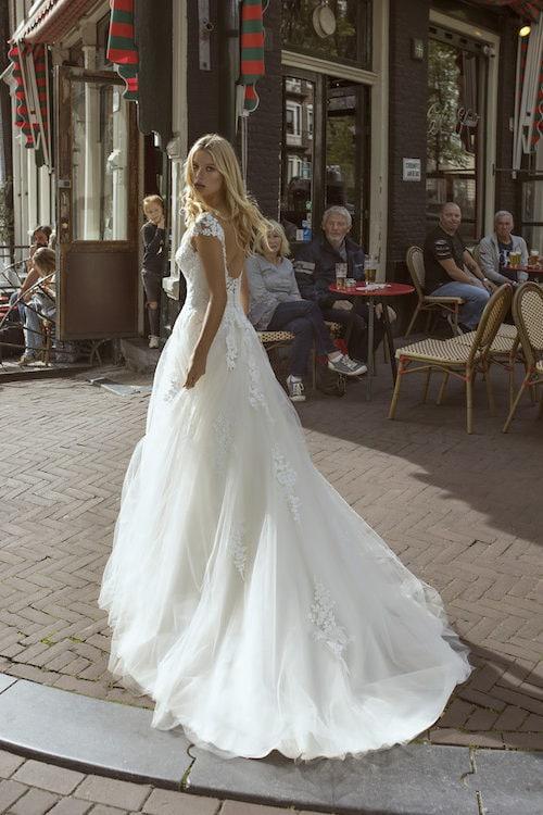 MF5547 Brautkleid ivory blush Vintage Boho Hochzeit Bitburg Luxemburg (2)