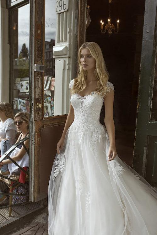 MF5547 Brautkleid ivory blush Vintage Boho Hochzeit Bitburg Luxemburg (3)