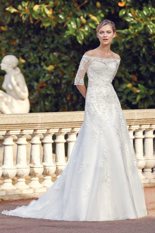 MF5609_1 Braut Hochzeit Trier Brautkleid Vintage Boho Bitburg