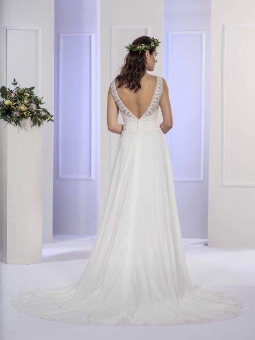 MF5672 (2) Brautkleid ivory blush Vintage Boho Hochzeit Bitburg Luxemburg