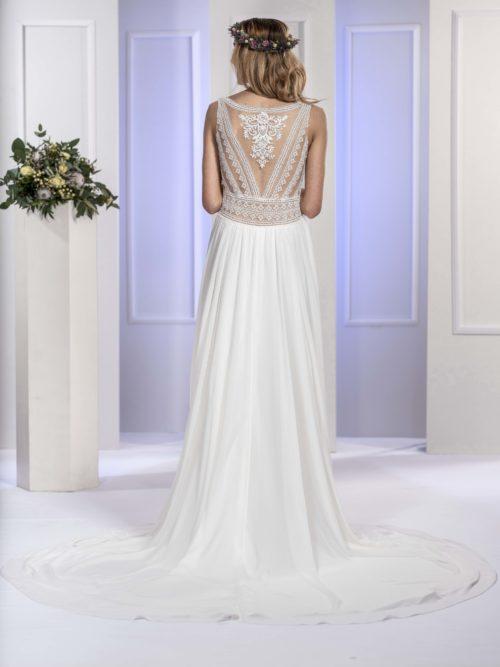 MF5673 (2) Brautkleid ivory blush Vintage Boho Hochzeit Bitburg Luxemburg