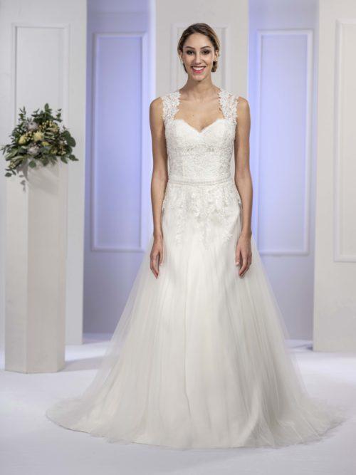 MF5676 (2) Brautkleid ivory blush Vintage Boho Hochzeit Bitburg Luxemburg
