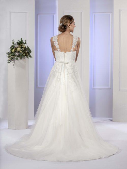 MF5676 Brautkleid ivory blush Vintage Boho Hochzeit Bitburg Luxemburg