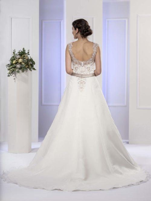 MF5677 Brautkleid ivory blush Vintage Boho Hochzeit Bitburg Luxemburg