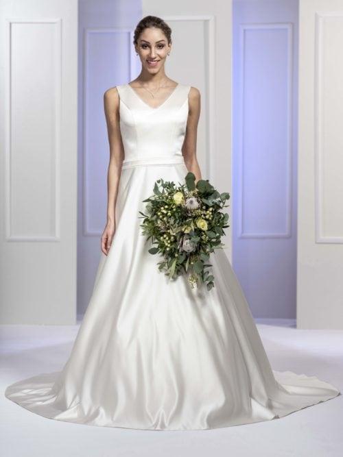 MF5681 (2) Brautkleid ivory blush Vintage Boho Hochzeit Bitburg Luxemburg