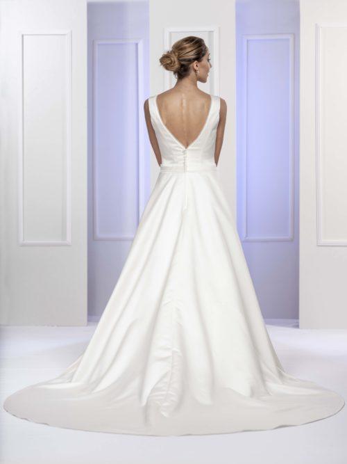 MF5681 Brautkleid ivory blush Vintage Boho Hochzeit Bitburg Luxemburg#