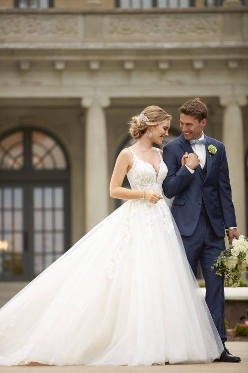 MF6078 Stella York Bride Brautkleid Hochzeitskleid Prinzessin Glitzer (1) (1)