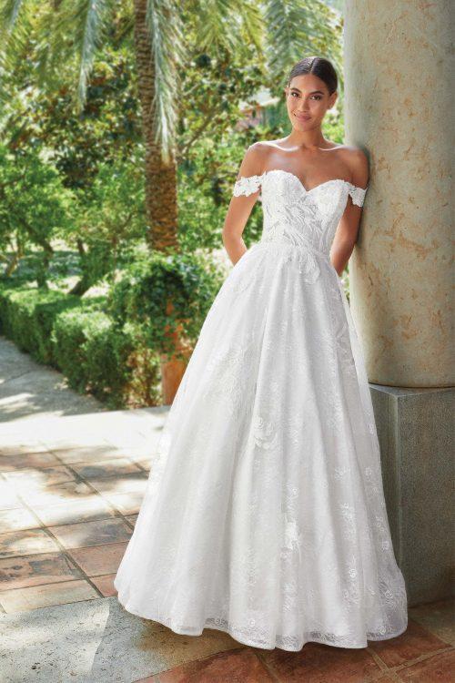MF6271 Bridal Weddingdress Hochzeitshaus Brautkleid Glitzerkleid (1)
