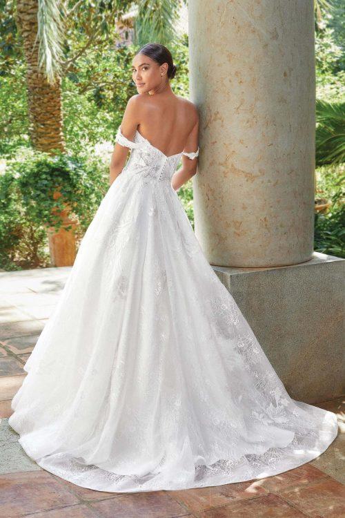 MF6271 Bridal Weddingdress Hochzeitshaus Brautkleid Glitzerkleid (3)
