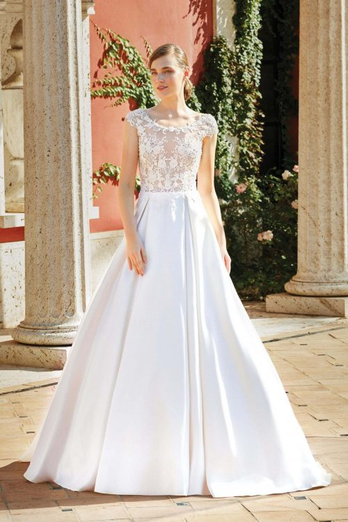 MF6272 Hochzeitskleid Weddingdress Wedding Hochzeit Vintage Boho (1)