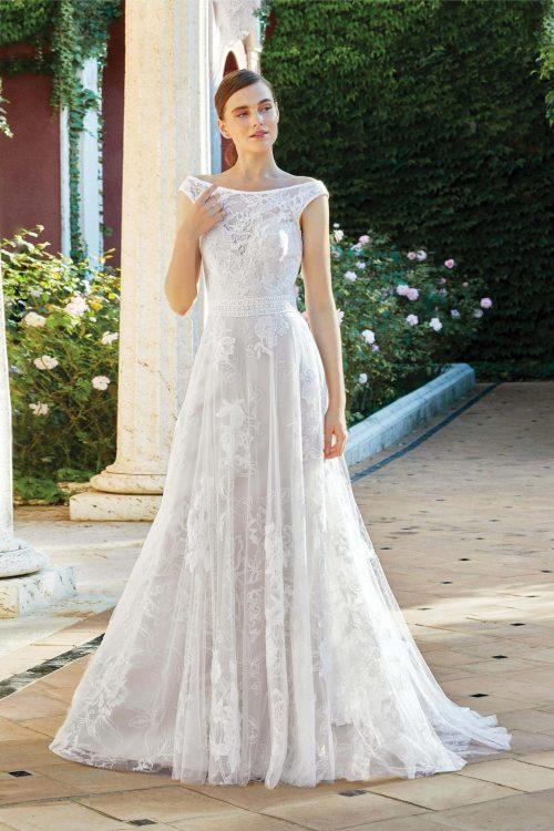 MF6284 Vintagekleid Boho A Linie Prinzessinkleid Hochzeitskleid Brautkleid (2)