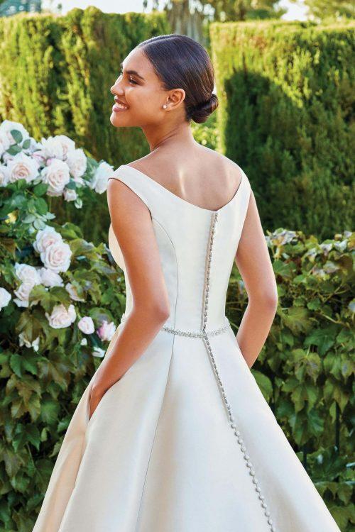 MF6286 Vintagekleid Boho A Linie Prinzessinkleid Hochzeitskleid Brautkleid (6)