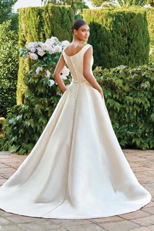 MF6286 Vintagekleid Boho A Linie Prinzessinkleid Hochzeitskleid Brautkleid (7)