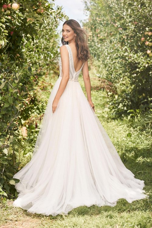 MF6290 Brautkleid Hochzeitskleid Boho Vintagekleid Prinzessinkleid (3)