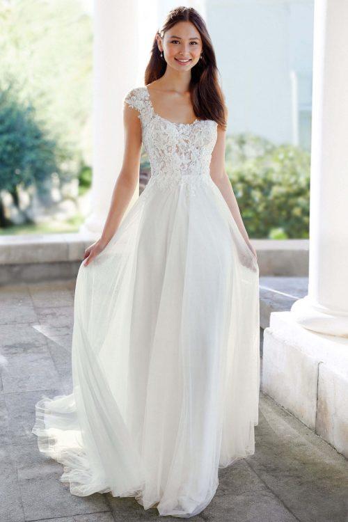 MF6302 Vintage Prinzessinkleid Mermaid Fit and Flare Weddingdress (1) (1)