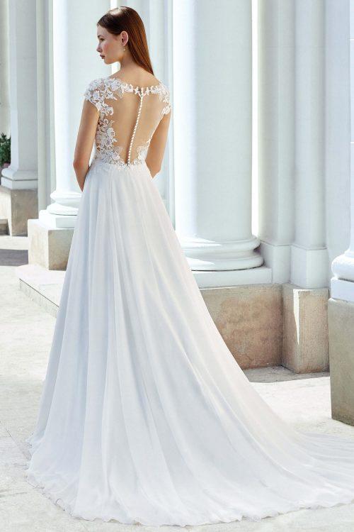 MF6306 Weddingdress Vintagekleid Boho Spitze Hochzeit Freie Trauung (6) (1)