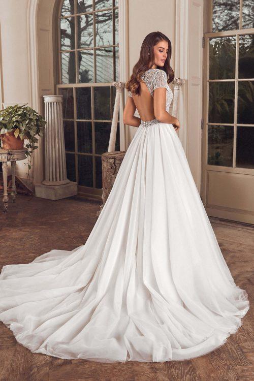 MF6314 Weddingdress Hochzeitskleid Boho Vintagekleid (3)