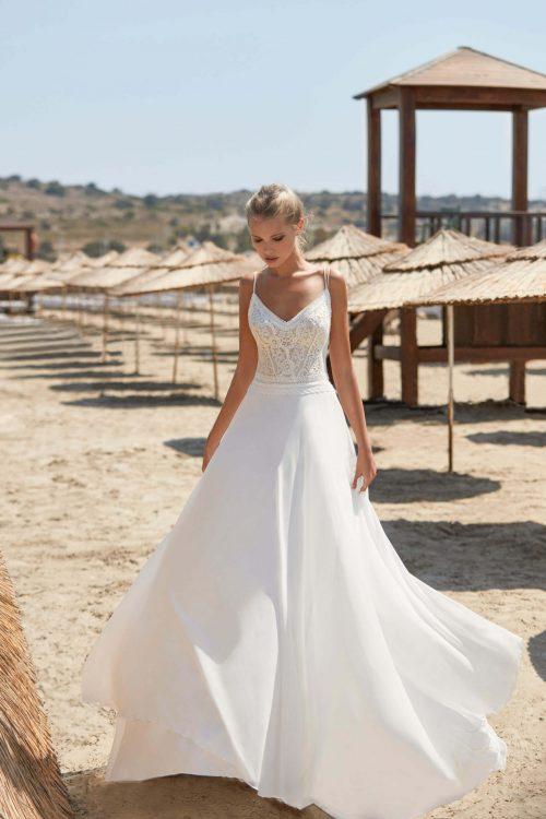 MF6388 Brautkleid Vintage Boho Brautkleid Hochzeit Wedding (1)