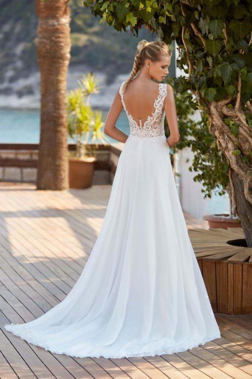 MF6395 Bohodress Hochzeitskleid Vintage Braut Kleid Marryfair (1)