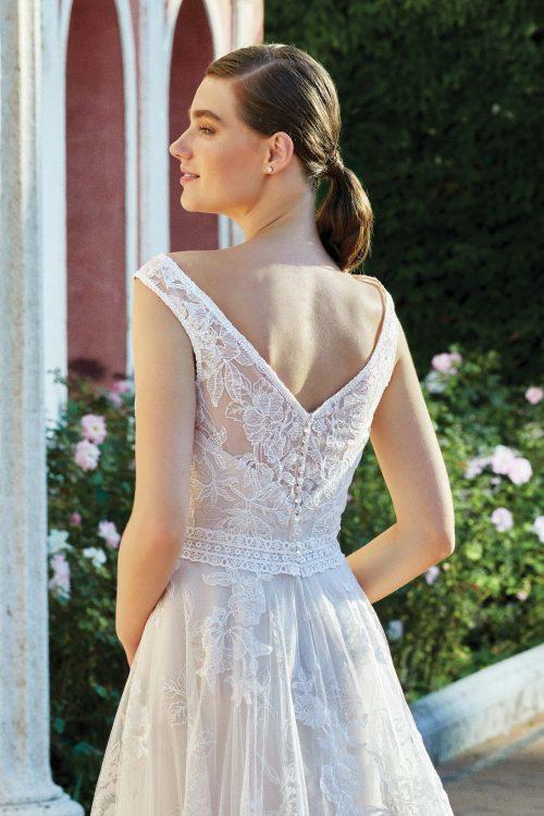 MF6284 Vintagekleid Boho A Linie Prinzessinkleid Hochzeitskleid Brautkleid (3) (1)
