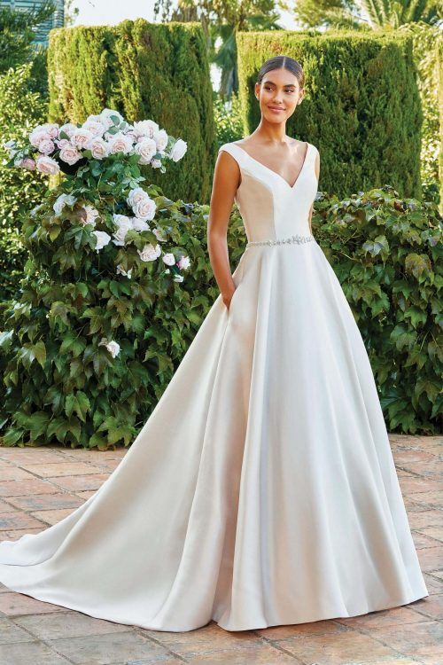 MF6286 Vintagekleid Boho A Linie Prinzessinkleid Hochzeitskleid Brautkleid (1) (1)