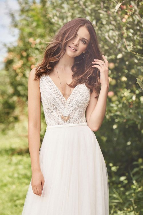 MF6290 Brautkleid Hochzeitskleid Boho Vintagekleid Prinzessinkleid (4) (1)