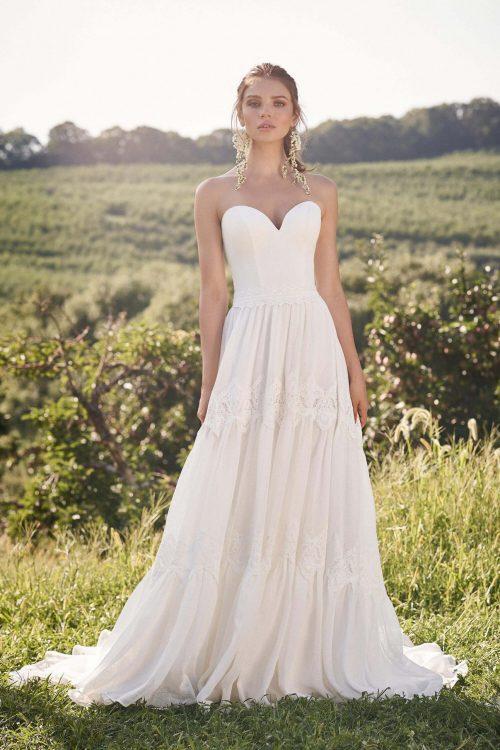 MF6291 Brautkleid Hochzeitskleid Boho Vintagekleid Prinzessinkleid (1) (1)