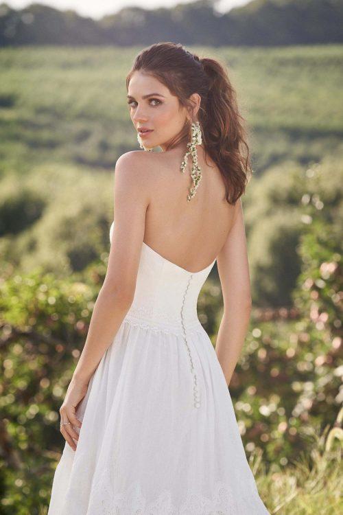 MF6291 Brautkleid Hochzeitskleid Boho Vintagekleid Prinzessinkleid (6) (1)
