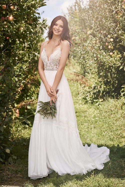 MF6297 Standesamtkleid Hochzeitskleid Boho Vintage Wedding (2) (1)