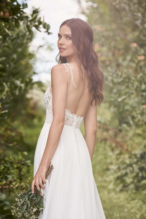 MF6297 Standesamtkleid Hochzeitskleid Boho Vintage Wedding (3) (1)
