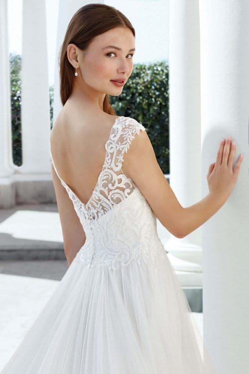 MF6305 Boho Vintagekleid Brautkleid Hochzeitskleid Hochzeit Wedding Trier (3)