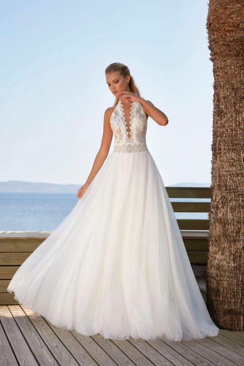 MF6392 Brautkleid Weddingdress Hochzeit Boho Vintage Prinzessinkleid (2) (1)
