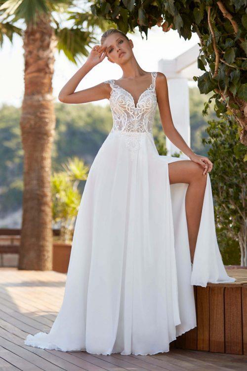 MF6395 Bohodress Hochzeitskleid Vintage Braut Kleid Marryfair (2)