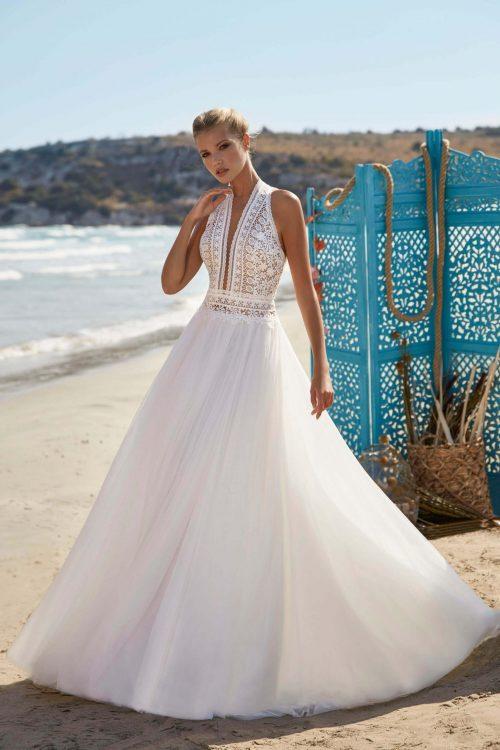 MF6396 Hochzeitskleid Boho Vintagekleid 2021 Kollektion (2)