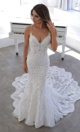 MF6419 Weddingdress Hochzeitskleid Vintage Boho Mermaiddress (1)
