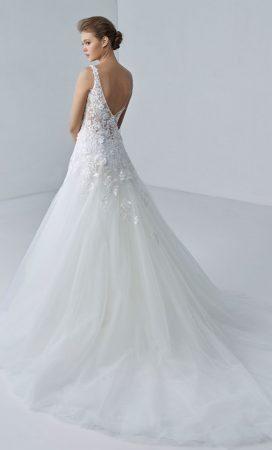 MF6422 Hochzeitskleid Brautmode Brautsalon Weddingdress Luxembourg (2)