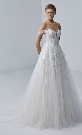 MF6423 Brautkleid Weddingdress Hochzeit Vintage Boho (1)