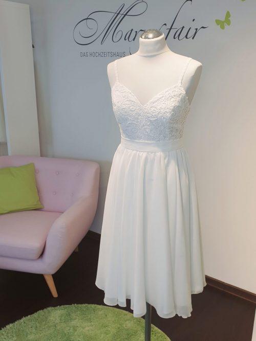 Marryfair Mix and Match Brautkleid Standesamtkleid kurz lang ivory schlicht (8)