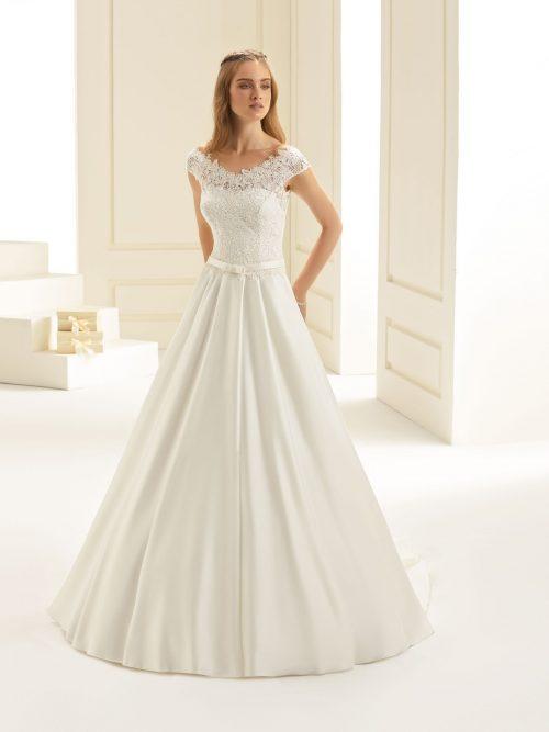 Marryfair schlichte Brautkleider Standesamt ivory Spitze (1)