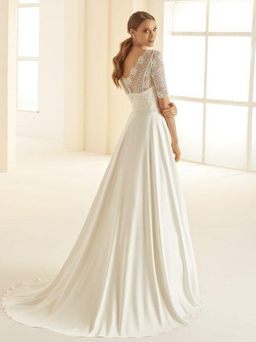 Marryfair schlichte Brautkleider Standesamt ivory Spitze (10)
